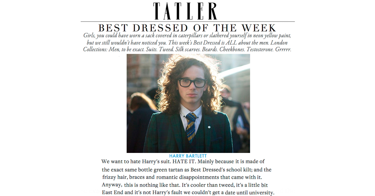 Tatler's Best Dressed List @ LC:M