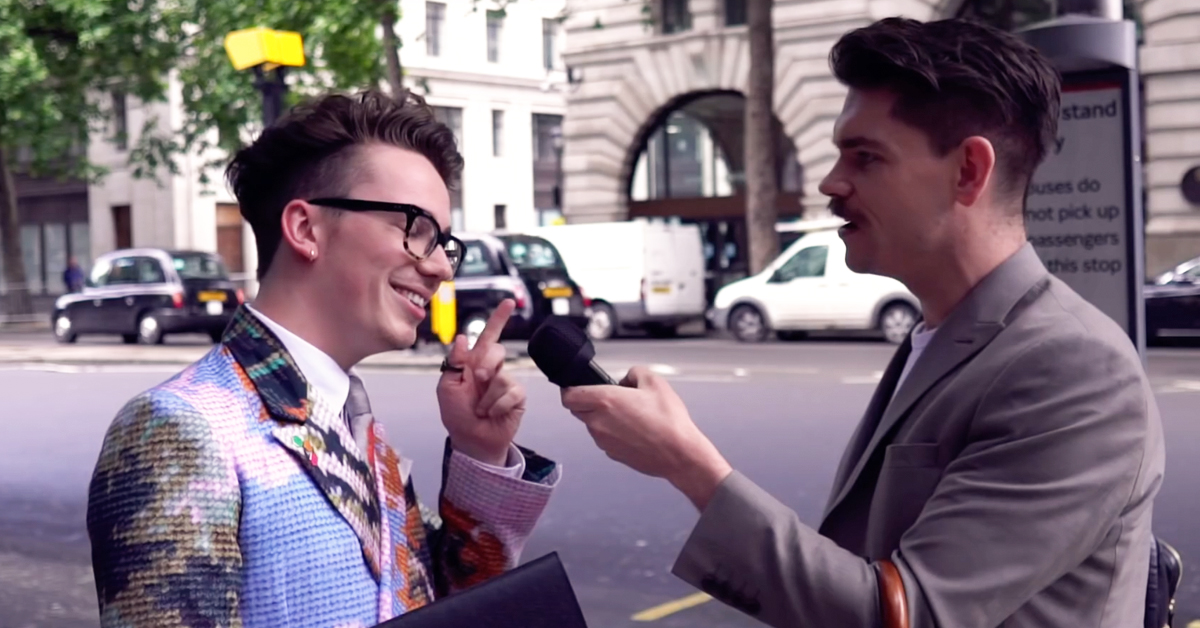 Street Styled: Men's Hair & Style @ London Fashion Week Men's SS18