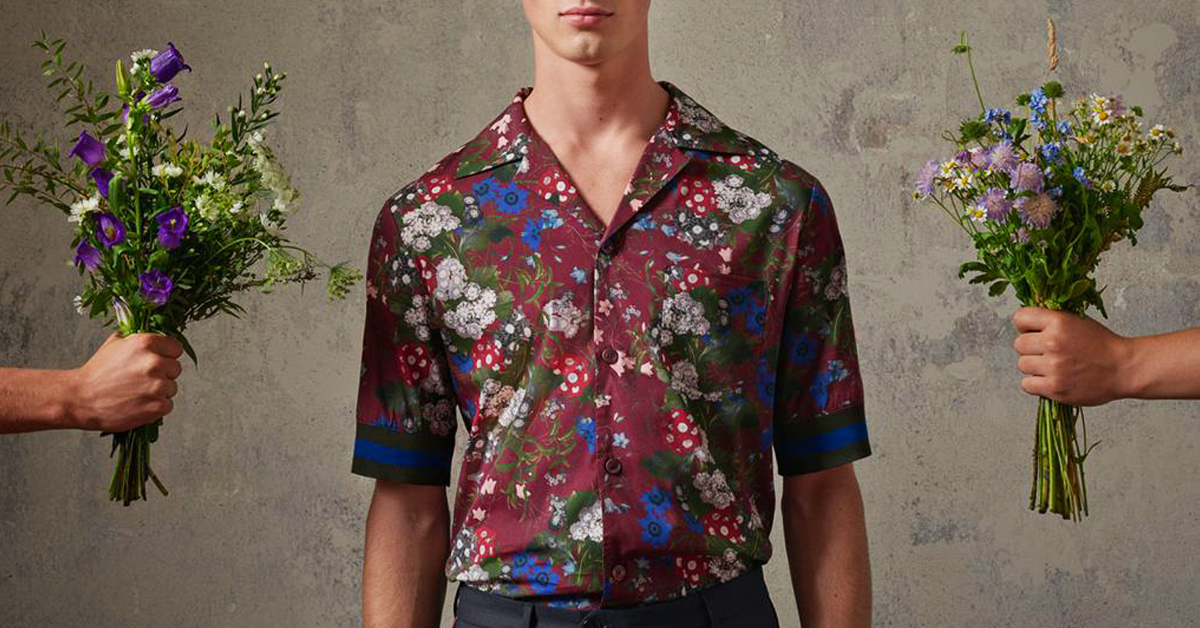 Erdem x H&M — Gloriously Floral Menswear