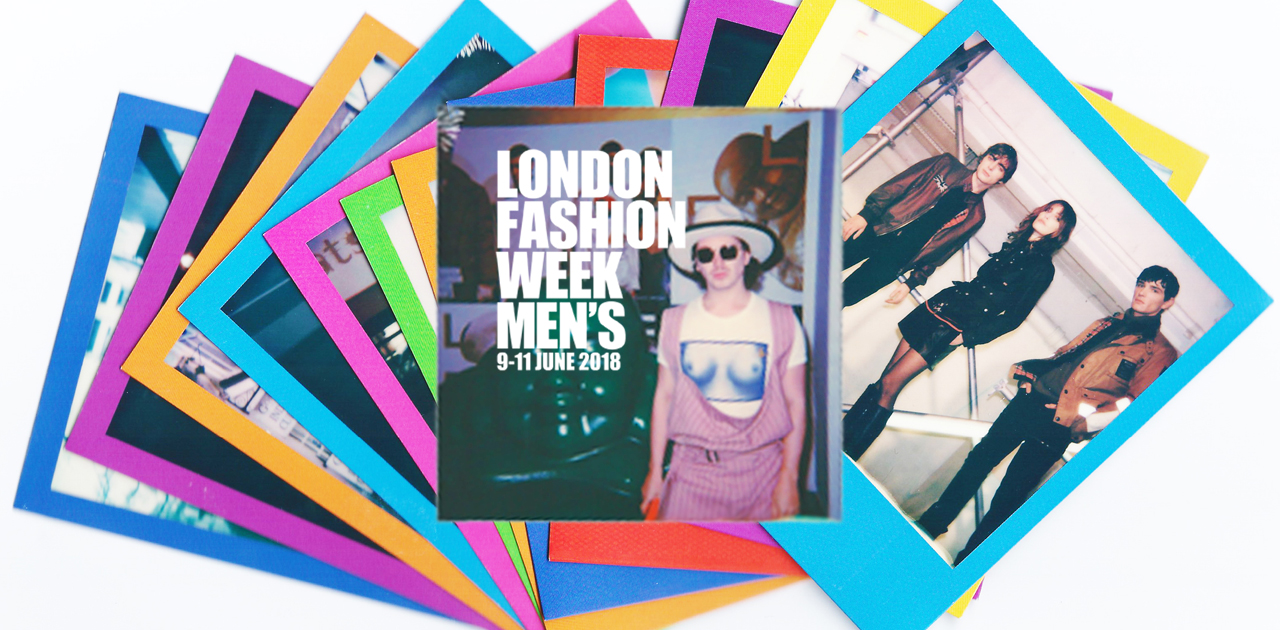 #StreetStylePolaroids — London Fashion Week Men's SS19