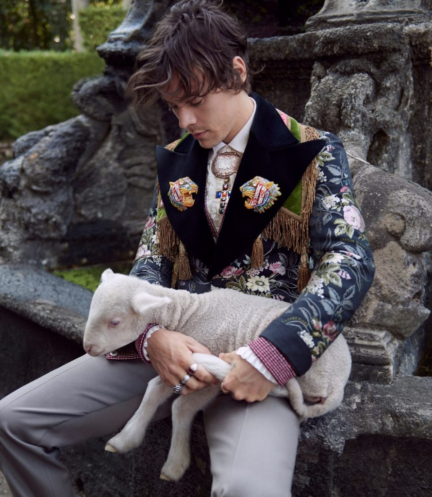 Gucci Cruise 2019 tailoring campaign Photography Glen Luchford