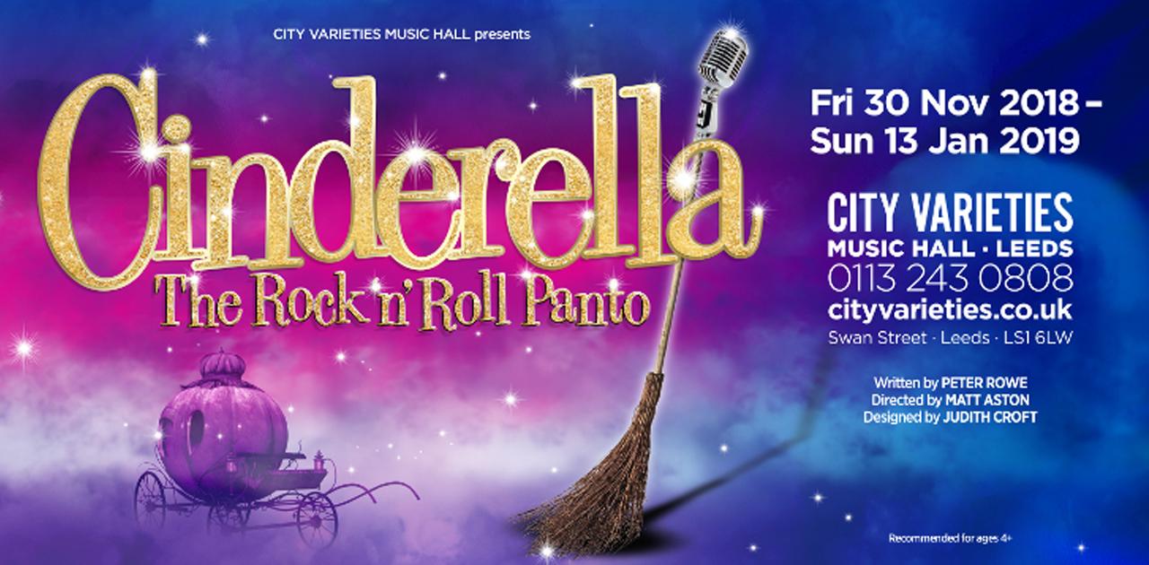Cinderella: The Rock 'n' Roll Panto @ City Varieties Music Hall, Leeds