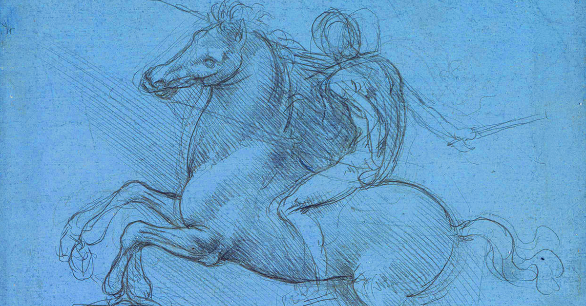 Leonardo Da Vinci: A Life In Drawing @ Leeds Art Gallery