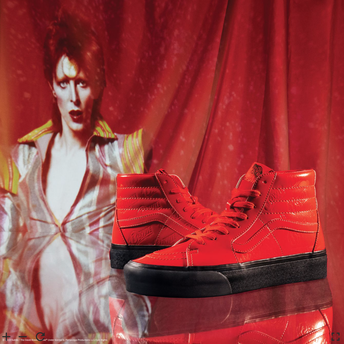 Vans x David Bowie – Stars Are Never Far Away The Norm Can