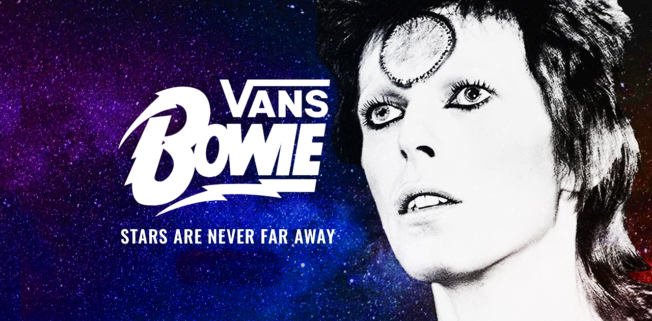 Vans x David Bowie – Stars Are Never Far Away