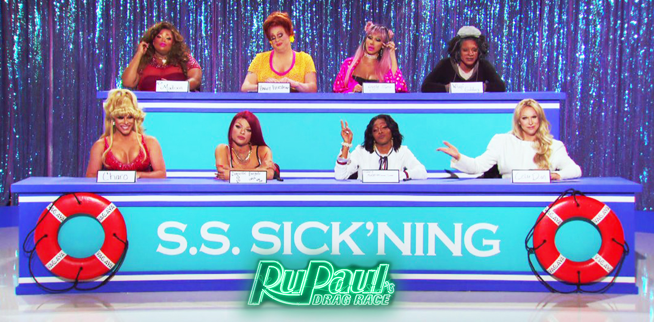 TV Review: RuPaul's Drag Race S11 Ep 8: Snatch Game at Sea