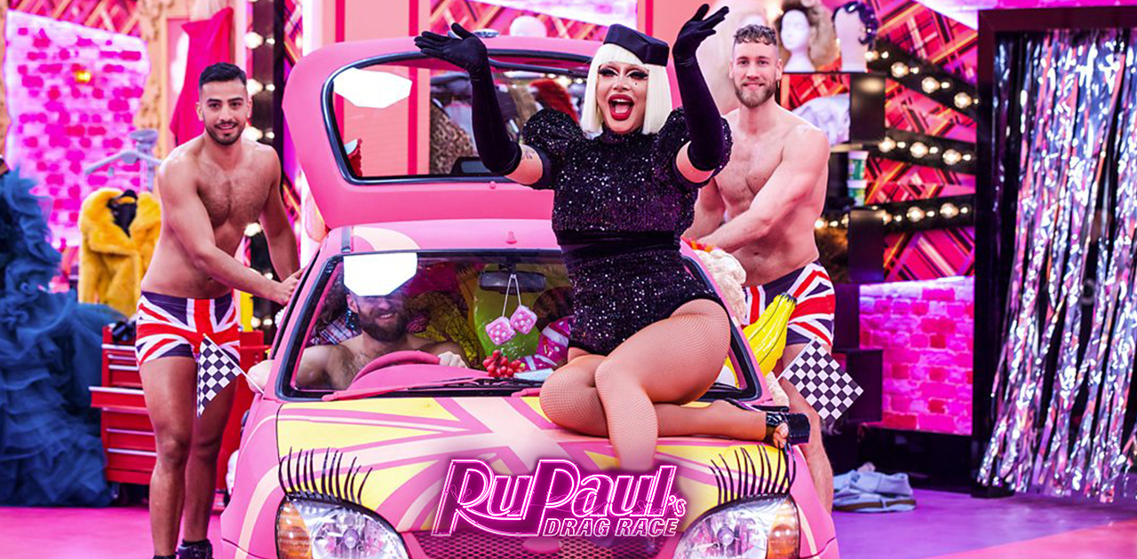 RuPaul's Drag Race UK – S1 Ep3: Car Boot The House Down