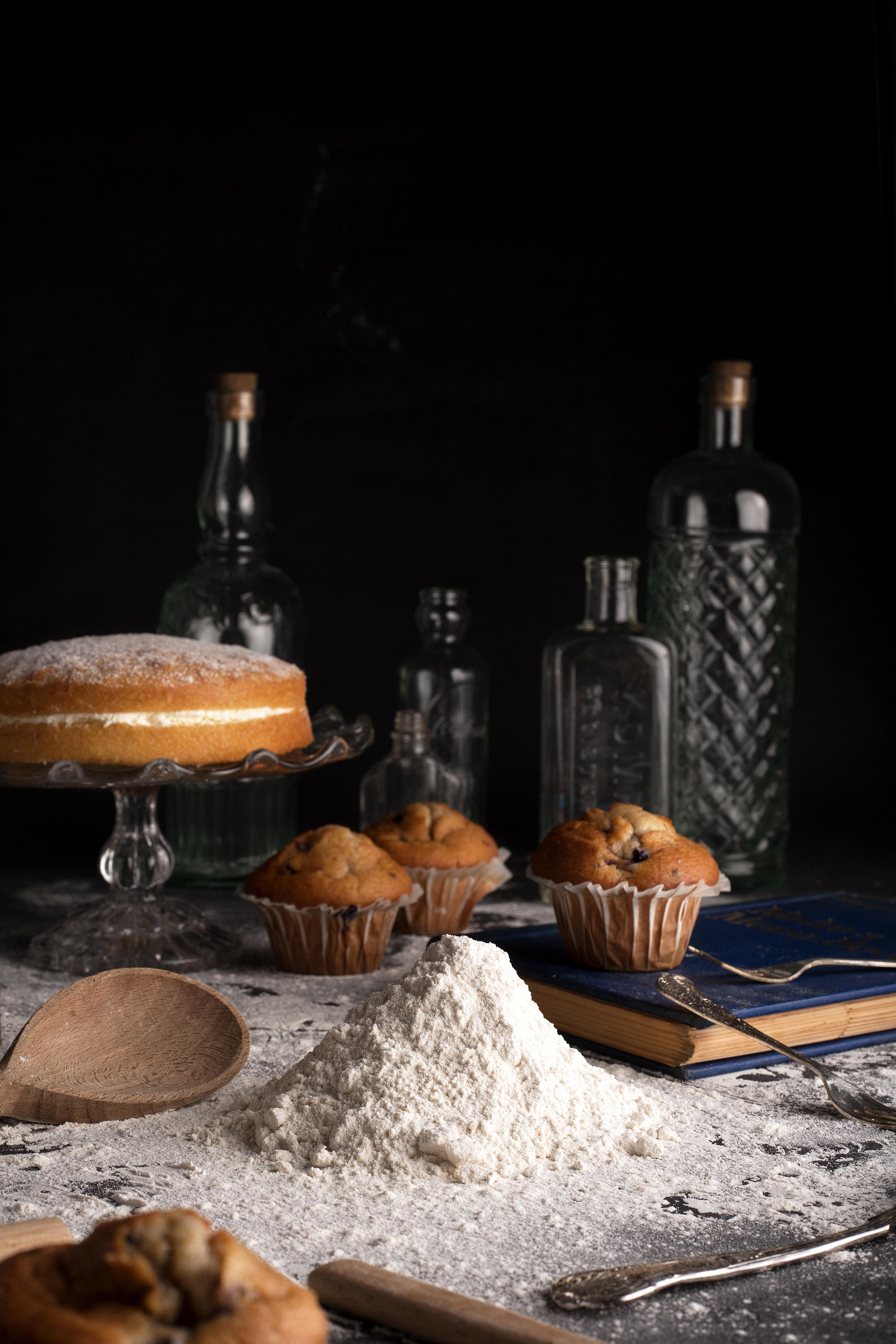 self-raising flour baking