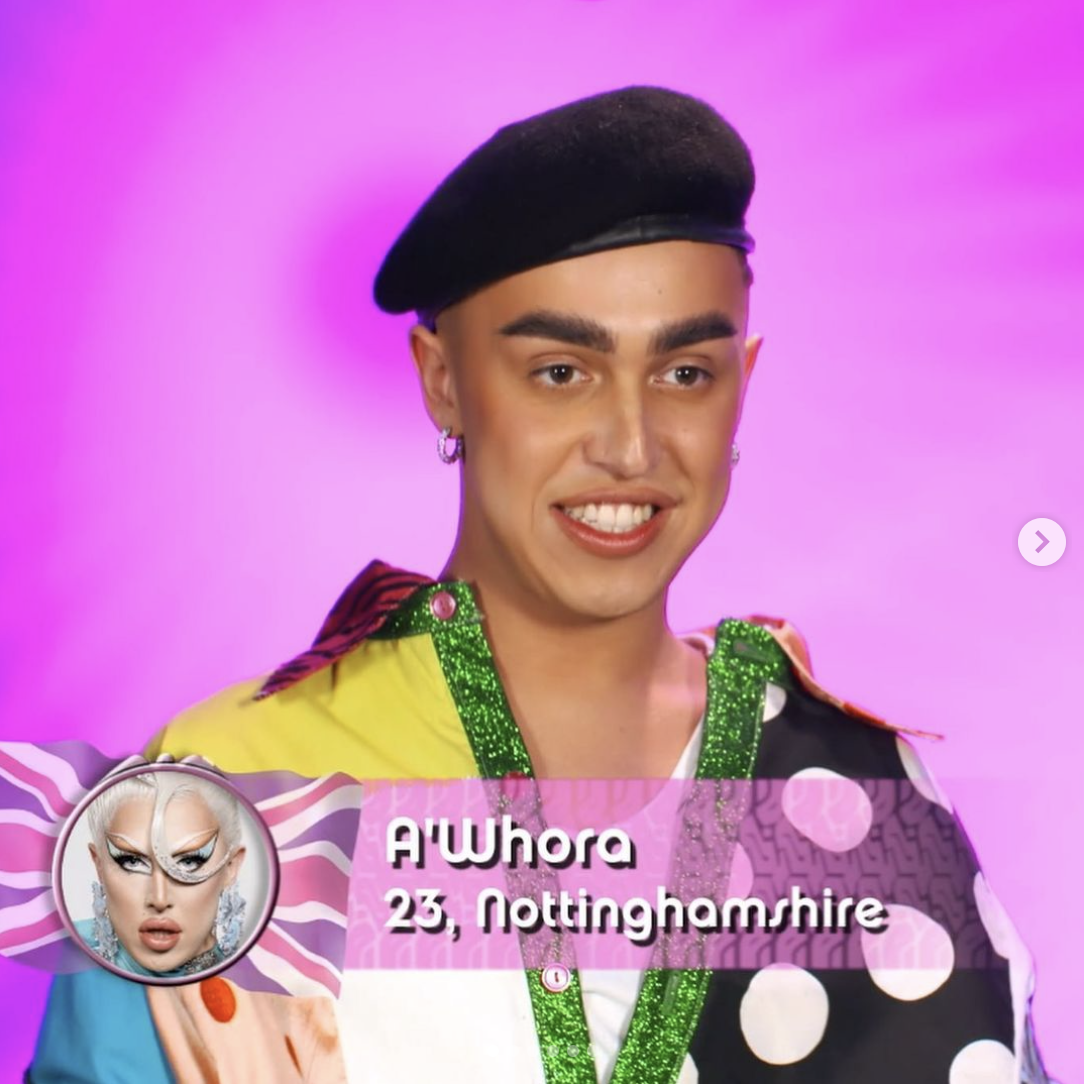 A'Whora out of drag