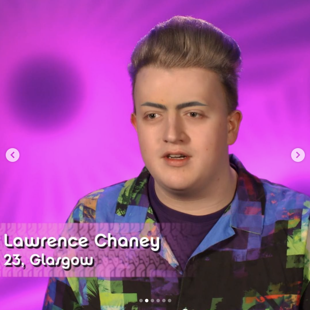 Lawrence Chaney out of drag