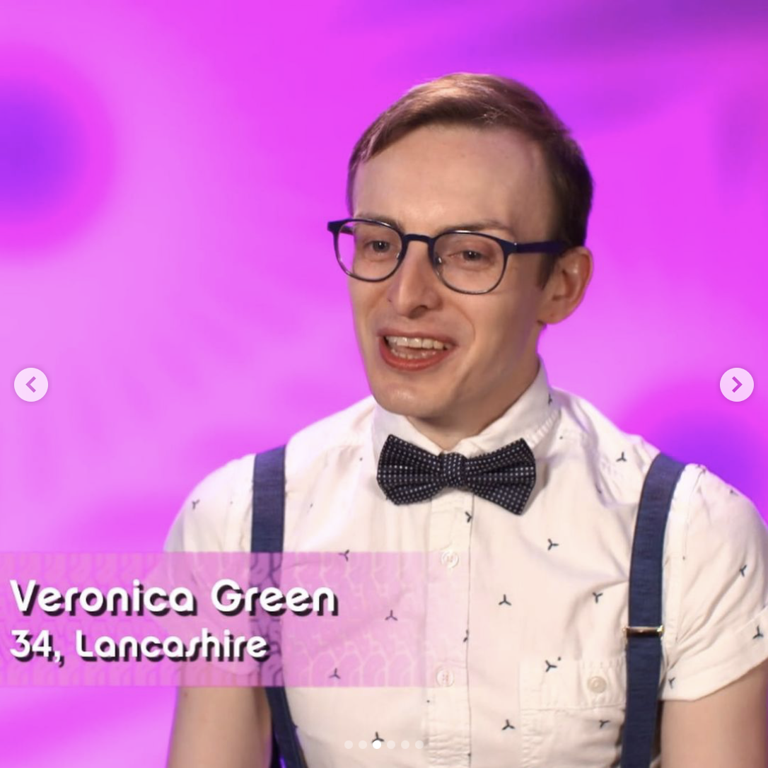 Veronica Green out of drag