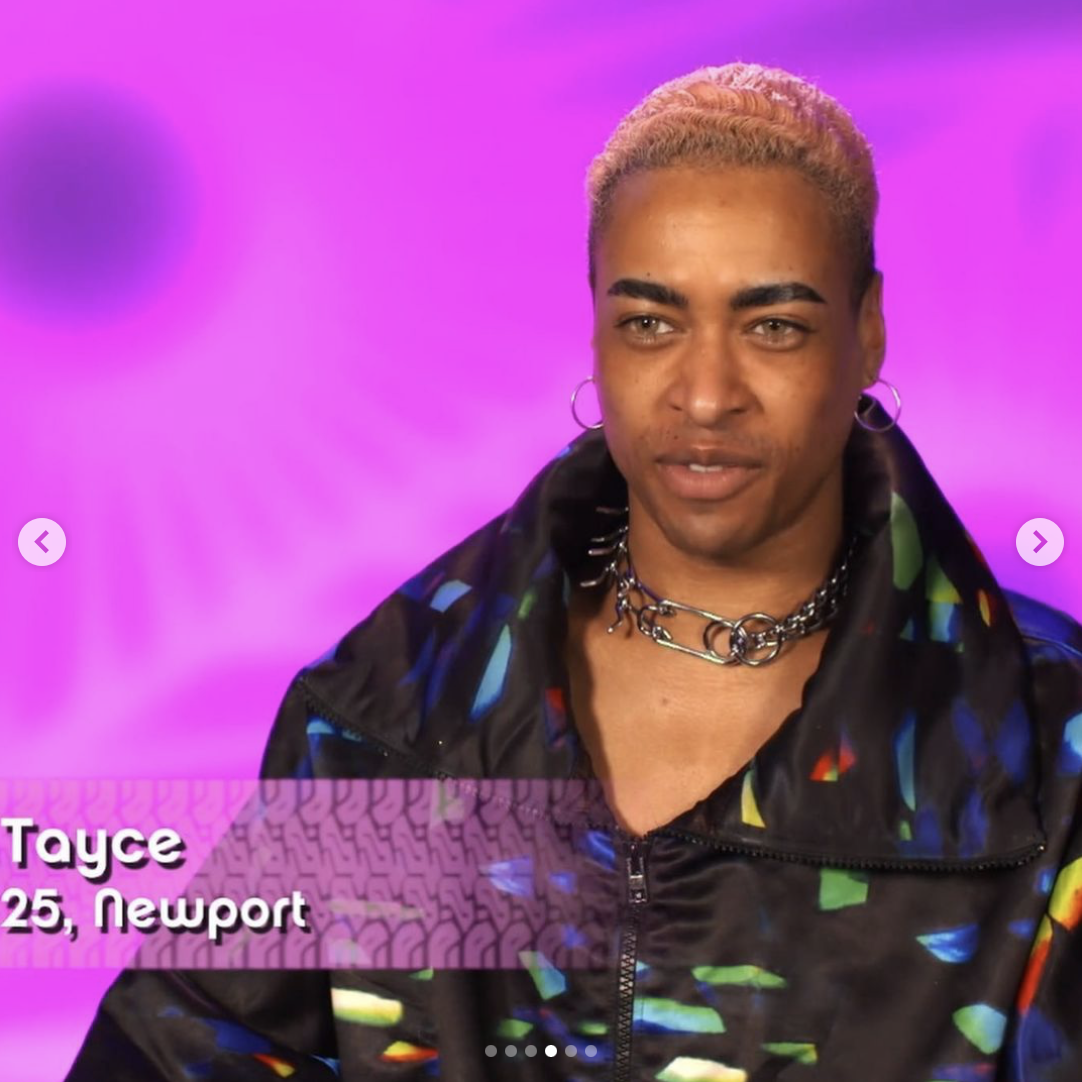 Tayce out of drag
