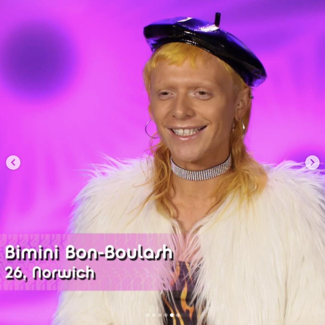 Bimini Bon Boulash out of drag