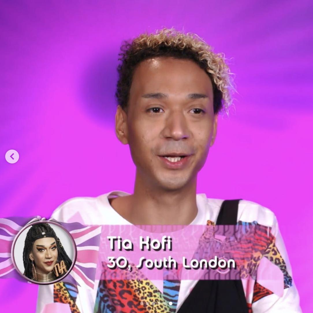 Tia Kofi out of drag