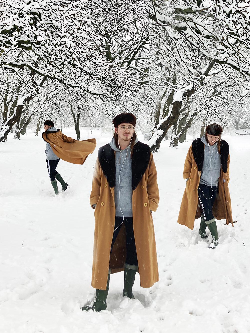 harry j Bartlett snow day