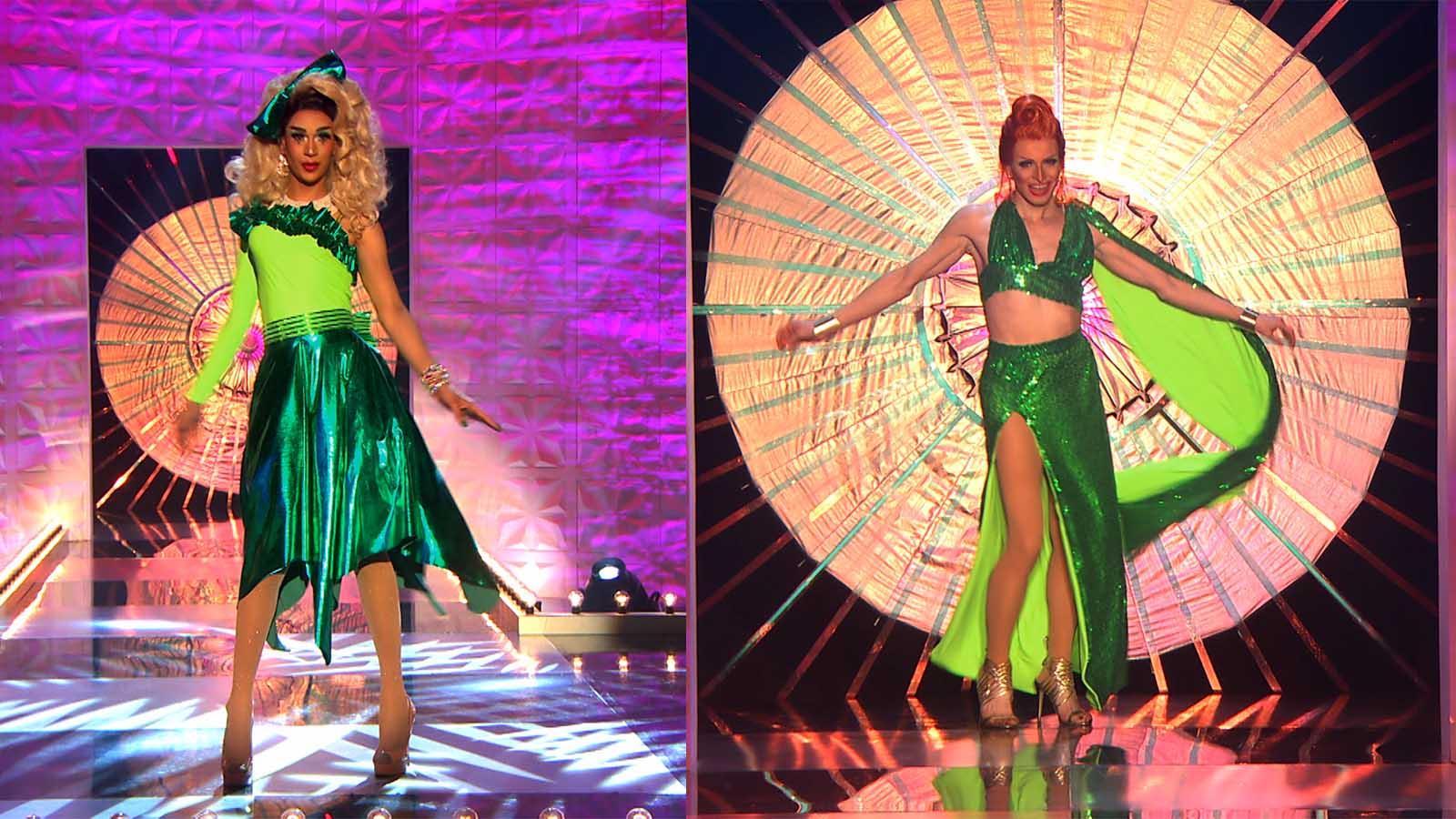 who wore it best Tia Kofi or Veronica Green
