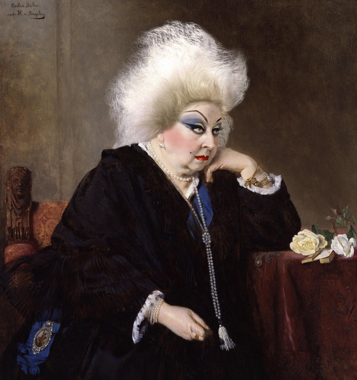 Queen Victoria x Divine by Sassicism / Harry J Bartlett