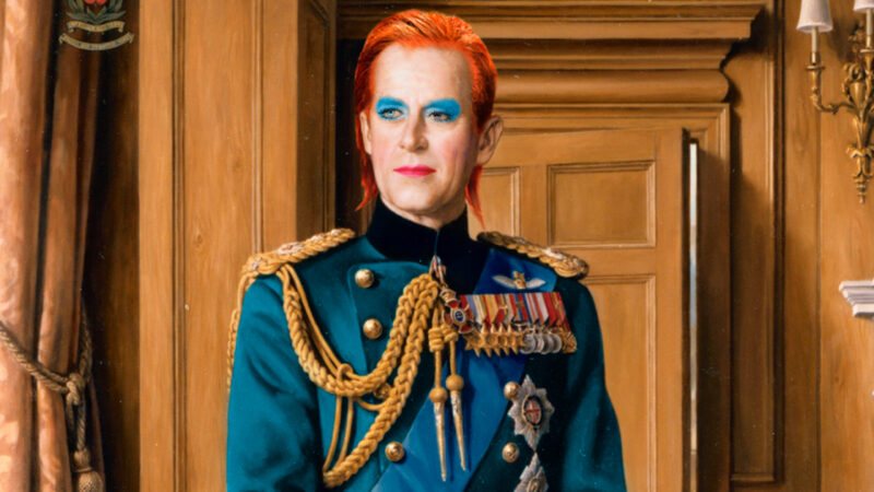 Sassicism's The Thin White Duke –Prince Philip x David Bowie